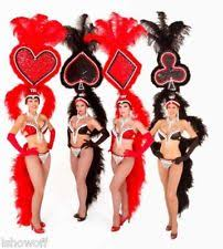 Las Vegas Showgirl Halloween Costume Vegas Costume Ebay