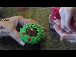 christmas cupcake decorating idea youtube