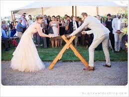 wedding wishes german an german wedding custom the tradition of cutting a log