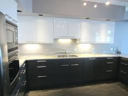 Gloss Red Kitchen Doors - glossy kitchen cabinets design high gloss cabinet ideas ikea doors