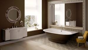 bathroom ideas brown free standing bathtub with white inner and