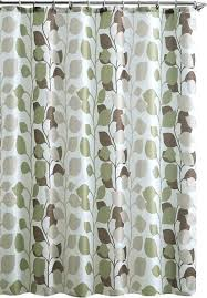 Green And Brown Shower Curtains Brown Shower Curtains Teawing Co