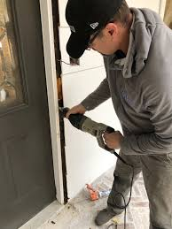can you use an existing door for a barn door how to install and stain new wood front doors beneath my