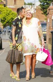 caribbean attire towie s robyn and grace wear flirty attire at and