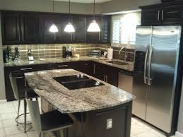 decor black wooden home depot cabinet refacing cost with granite