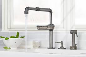 Kwc Kitchen Faucet 5 Advantages Of Separate Kitchen Faucet Controls Abode