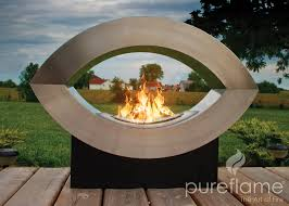 Modern Patio Heater by The Beauty And Warmth Of Modern Fireplaces Portablefireplace