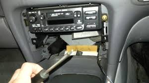 how to remove the radio from a ford ef el falcon