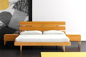 eco friendly bedroom furniture eco friendly bedroom interior design with yellow bamboo platform bed