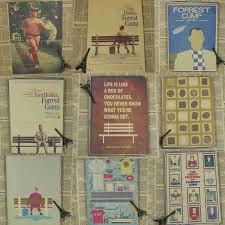 film forrest gump adalah tom hanks adalah cudros forrest gump vintage poster film kertas