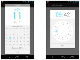timepicker android the android arsenal date time pickers datetimepicker android