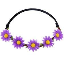 elastic headband small flower halo elastic headband 8 color options