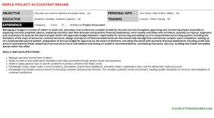 project accountant cover letter u0026 resume
