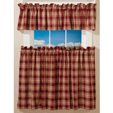 Prairie Curtains Prairie Plaid Curtains Sturbridge Yankee Workshop