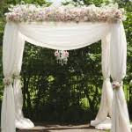 Wedding Arches Using Tulle To Decorate A Wedding Arch Article Which Is Classified Within Wedding