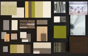 Interior Design Material Board by Sci Design Group Healthcare Material Board