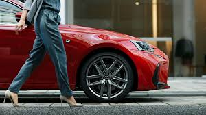 red lexus lexus is luxury sports saloon lexus uk