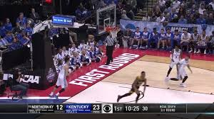 lavone holland ii dunk northern kentucky vs kentucky 2017 ncaa