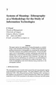 examples of writing an abstract for a research paper systems of meaning ethnography as a methodology for the study of information systems and qualitative research information systems and qualitative research
