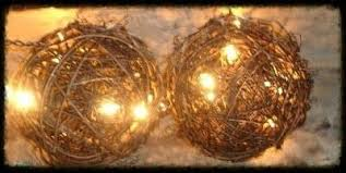 lighted grapevine twig balls especially for you home decor
