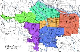 Portland Oregon County Map by Redistricting What Are Communities Of Interest A Look At Metro U0027s
