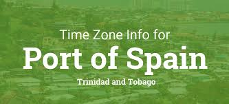 Utc Time Zone Map by Daylight Saving Time Dates For Trinidad And Tobago U2013 Port Of Spain