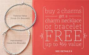 free charm bracelet images Free james avery bracelet or necklace with purchase of 2 charms png