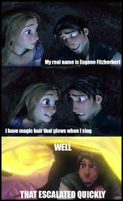 Tangled Meme - tangled meme by catherineelias on deviantart