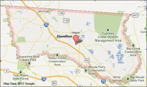 florida map hamilton county florida map