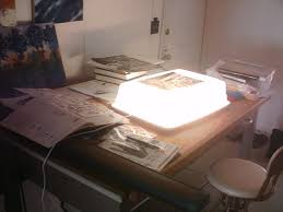 Lighted Drafting Table Cheap Light Box For Drawing Or Inking Or