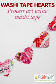 washi tape hearts preschool process art mum in the madhouse