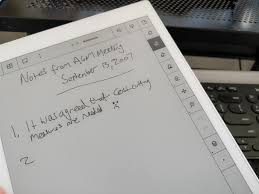 e paper writing tablet remarkable review the e paper tablet for sketchers and scribblers above notebook writing and tools
