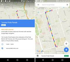 Rose Parade Route Map by Google Maps Is Integrating The Pride Toronto Parade Into Its App
