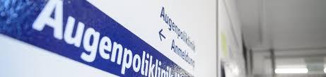 Augenarzt Bad Mergentheim Augenklinik Ambulante Behandlung