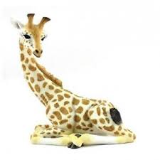 out of africa by sitting large giraffe figurine ornament lp26512