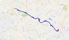 Milb Map Run The Reagan Mar 03 2018 World U0027s Marathons