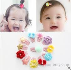 baby hair accessories wool bb clip baby hair clip hairpin south korea children