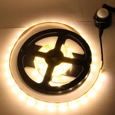 motion activated led light strip motion activated led bed light 12v 1 5m timer led strip night lights