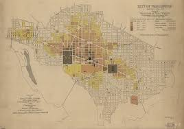 Washington State Map Cities by City Of Washington Property Values Map From 1880 Ghosts Of Dc