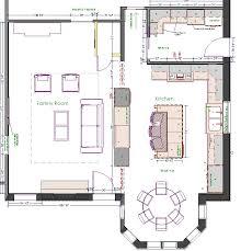island kitchen floor plan best 10 kitchen floor plans ideas on