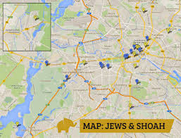 A New Map Of Jewish by Maps Jews U0026 Shoah Elephant In Berlin