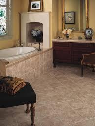 Vinyl Planks Bathroom Bathroom Flooring Wood Water Resistant Cork White Beadboard Tub