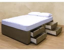 Platform Bed Drawers 8 Drawer Platform Bed Storage Mattress Box