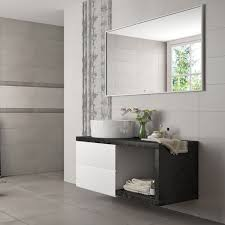 white bathroom tiles for walls and floors in ceramic and porcelain