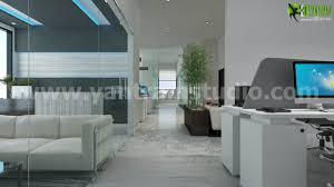 unique office design and modern commercial building animation by