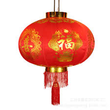 supply red lantern stretch fabric stamping new year chinese new