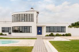 stunning 1930s home with private beach asks 3 96m in england curbed