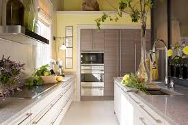 Yellow Kitchen Walls by Siematic Cabinetry Installation In Collaboration With Interior