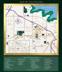 Dallas Cowboys Stadium Map by Maps Of Southlake Southlake Tourism Tx Official Website