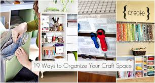 How To Organize Your Desk 19 Ways To Organize Your Craft Room